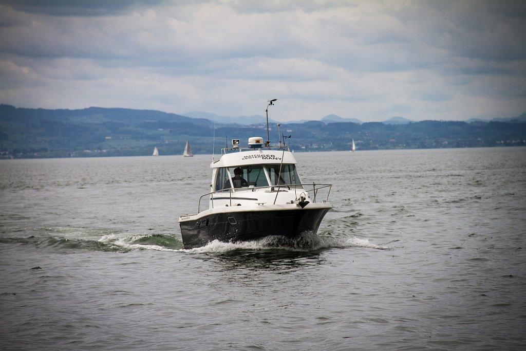 Match Racing Begleitboot