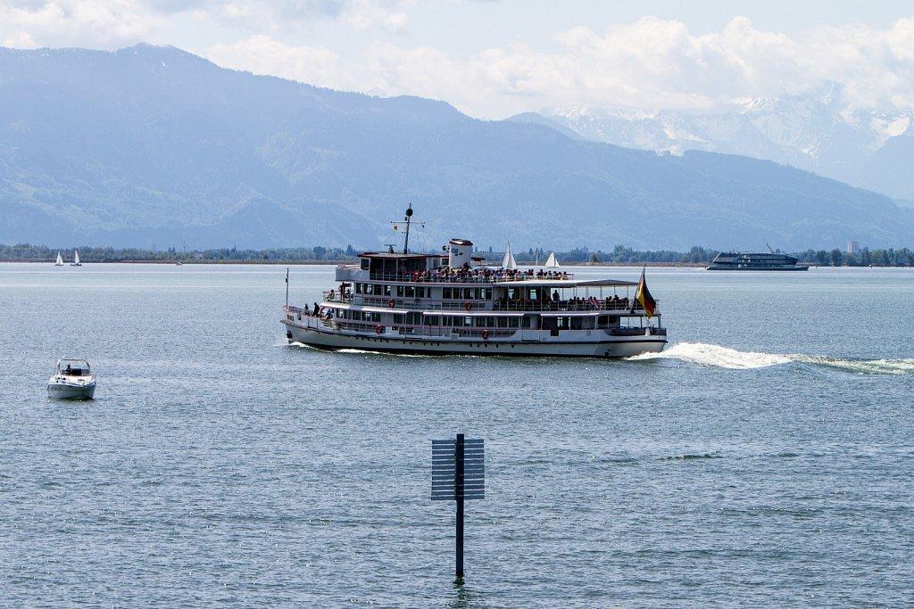 BSB-Schiff auf dem Bodensee