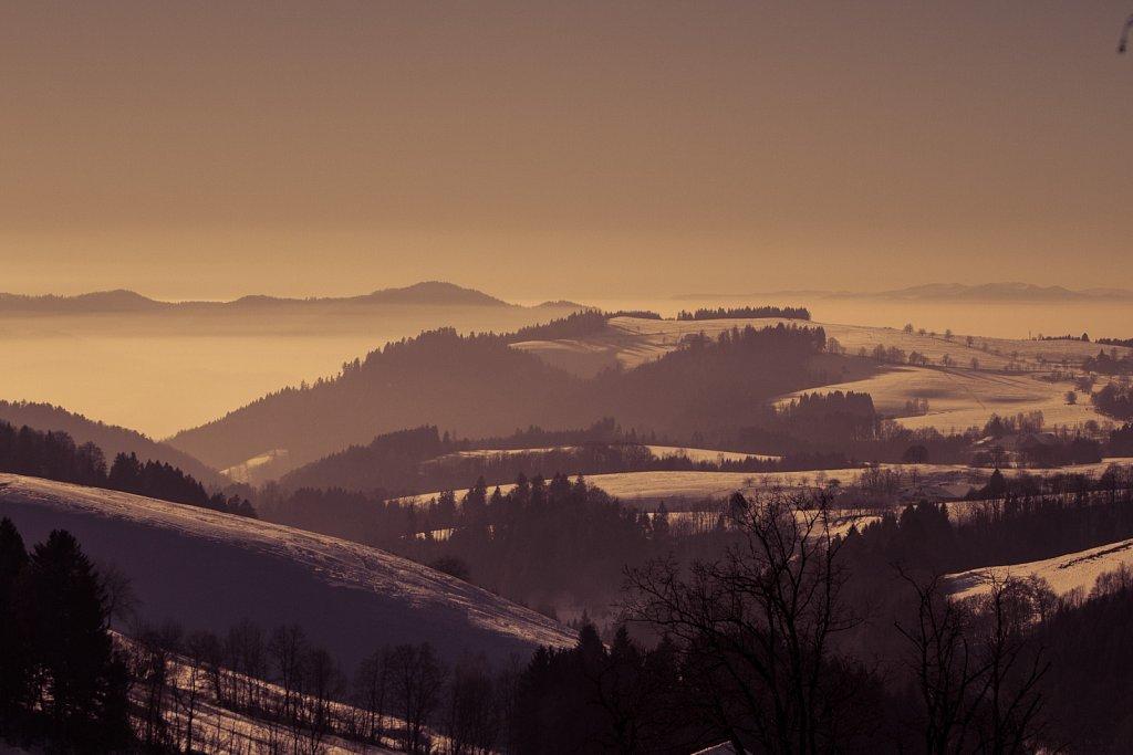 Winter-Experimente am Kandel im Schwarzwald